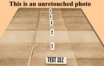 carpet cleaning test